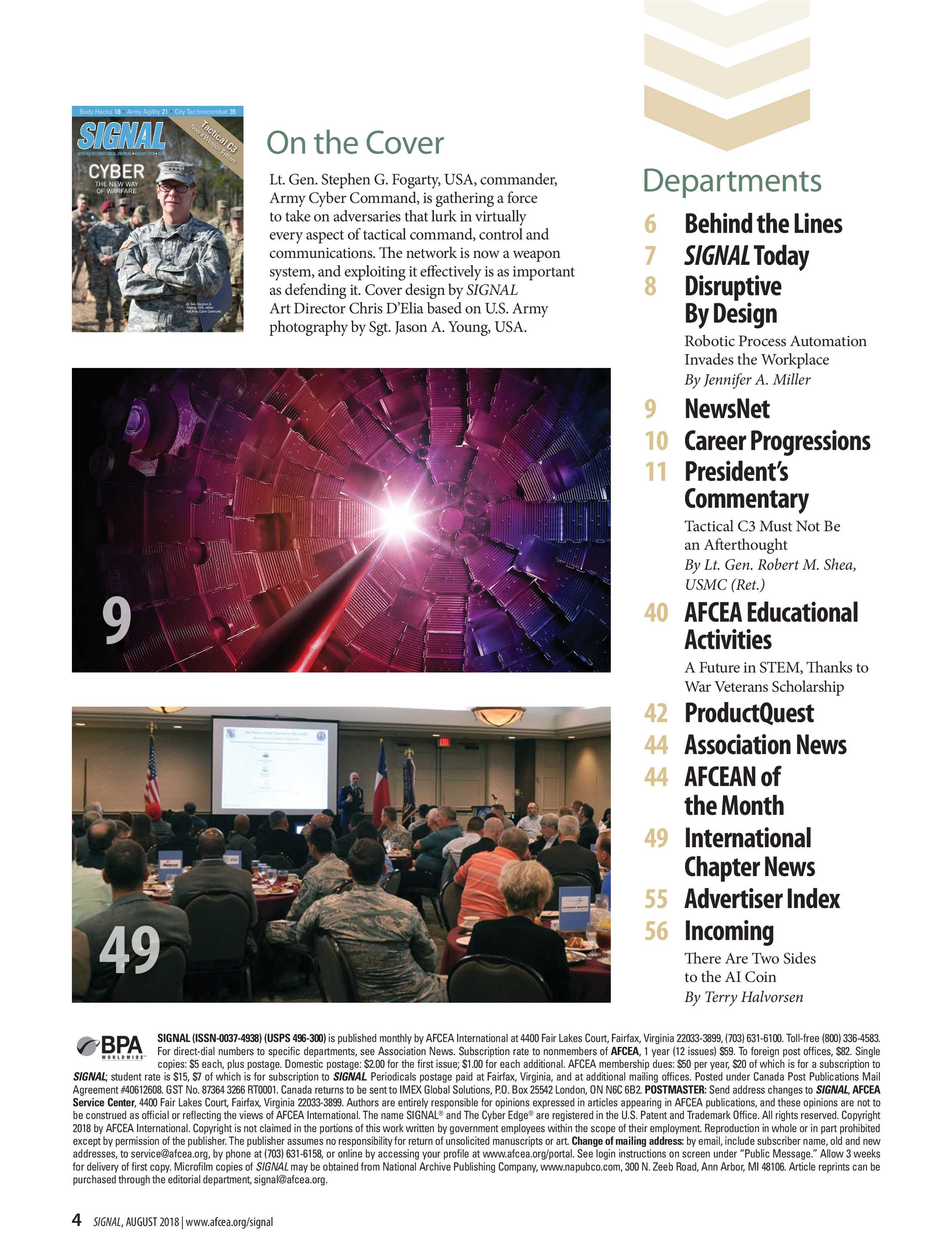 Signal - August 2018 - page 3