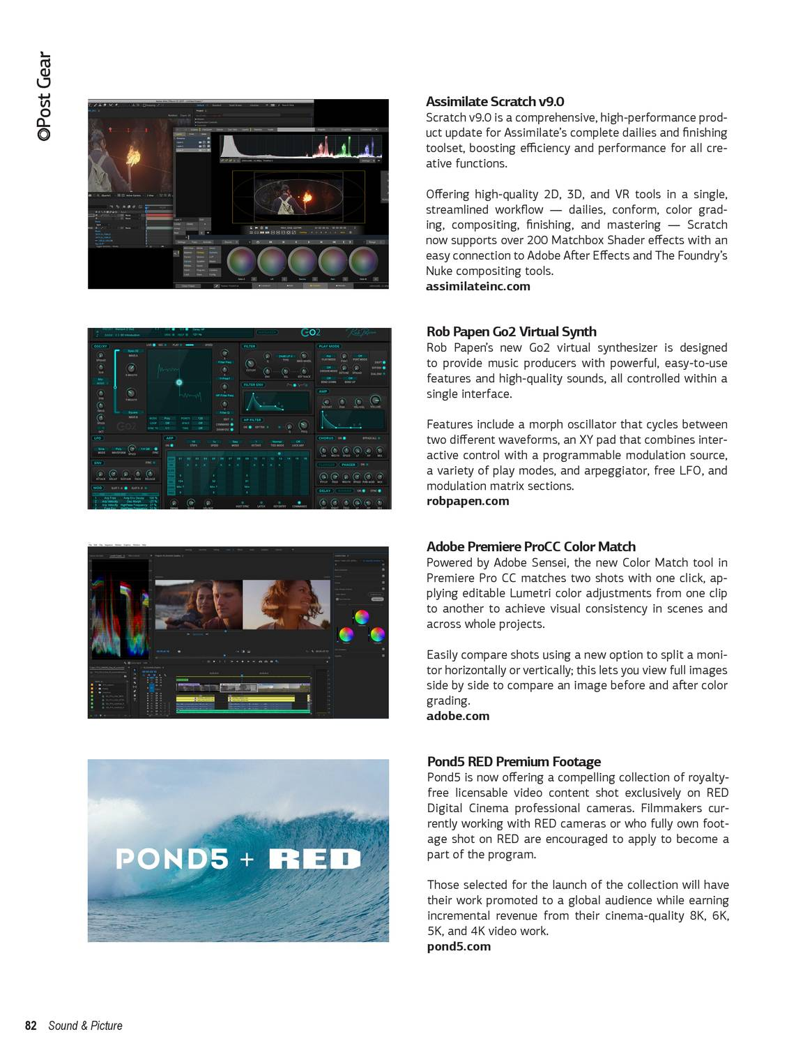 Sound & Picture - Issue 2, 2018 - page 82