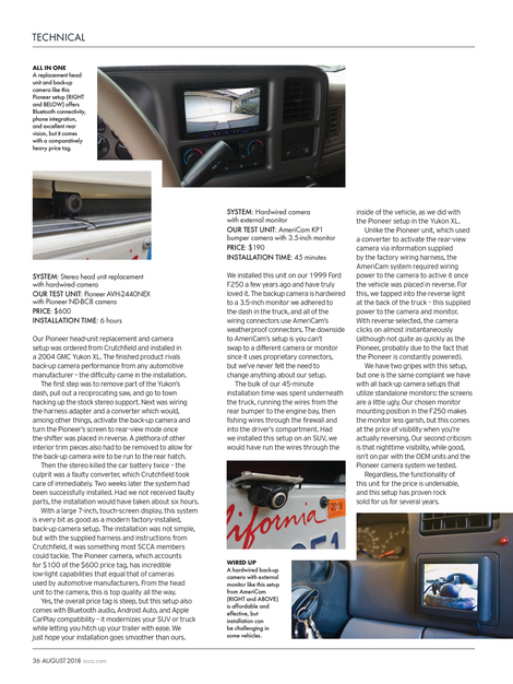 Sports Car - August 2018 - Page 36-37