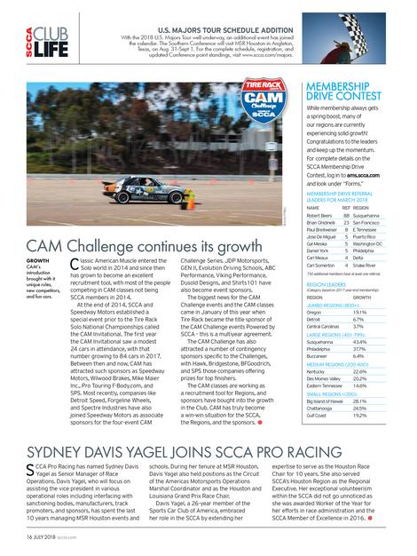 Sports Car - July 2018 - Page 14-15