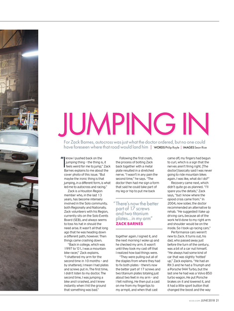 Sports Car - June 2018 - Page 20-21