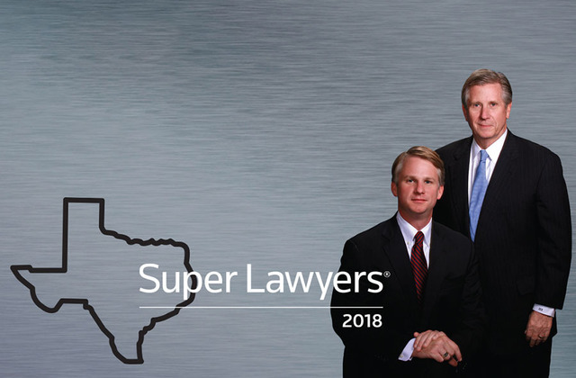 Super Lawyers - Texas 2018 - Eberstein Witherite, LLP
