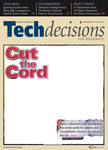 Tech Decisions - November 2011 - Front Cover