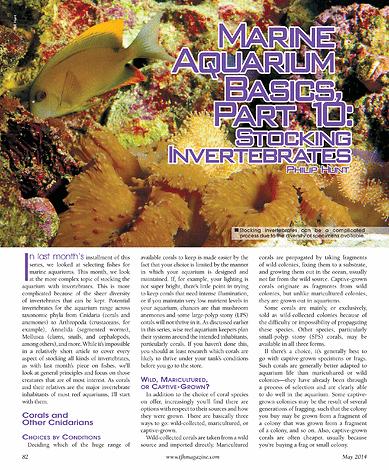 Tropical Fish Hobbyist May 2014 Page 82 83