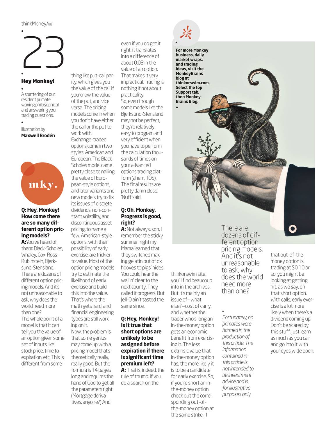 thinkMoney - Winter 2010 - page 22