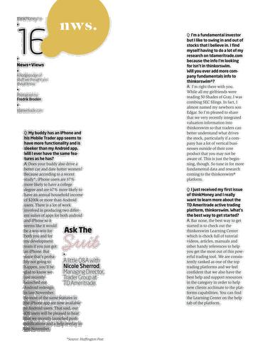 thinkMoney - Winter 2013 - Page 16-17