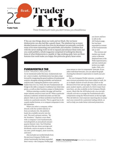 thinkMoney - Winter 2014 - Page 22-23