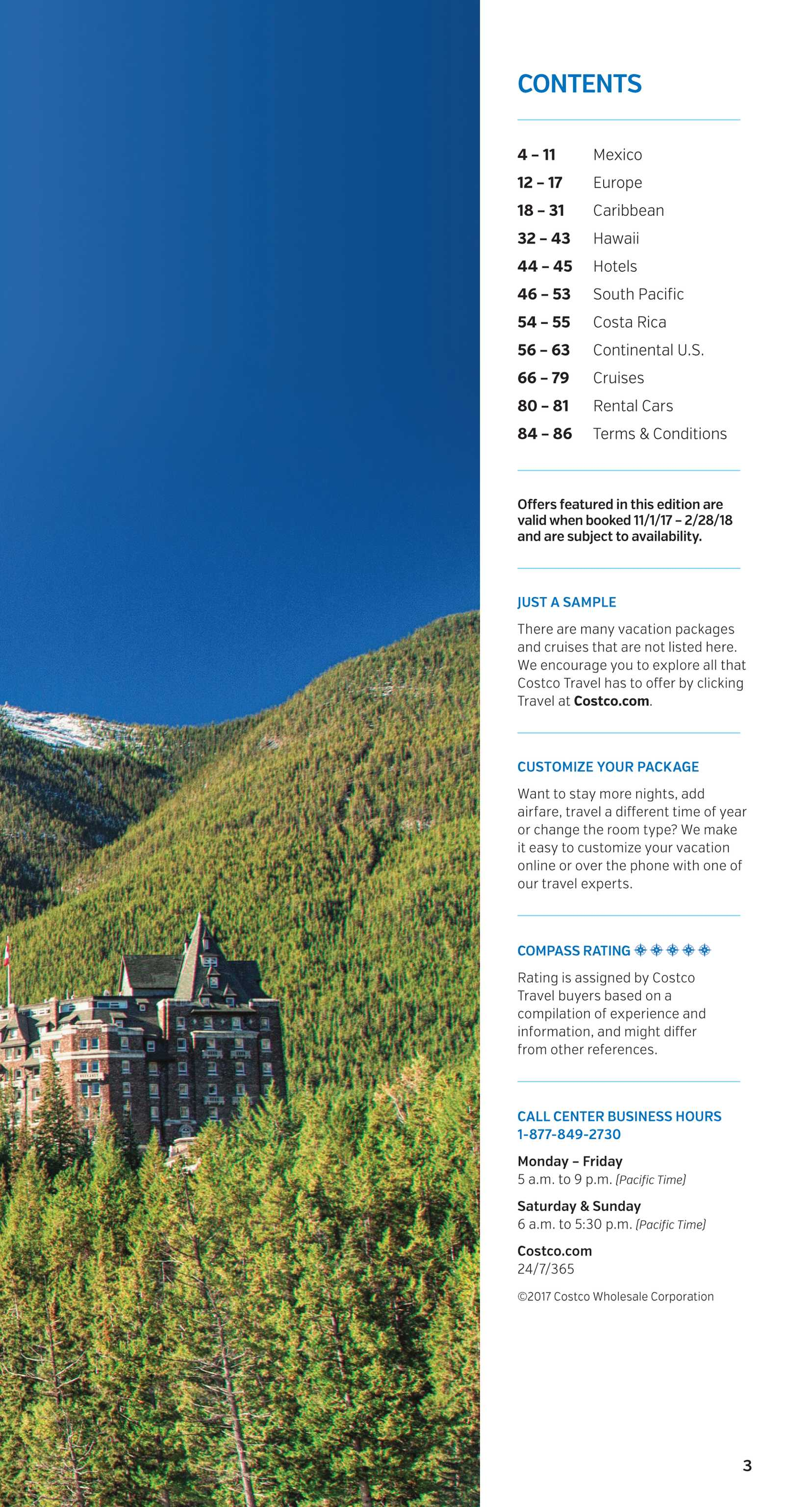 Travel Guide - Winter/Spring 2018 - page 3