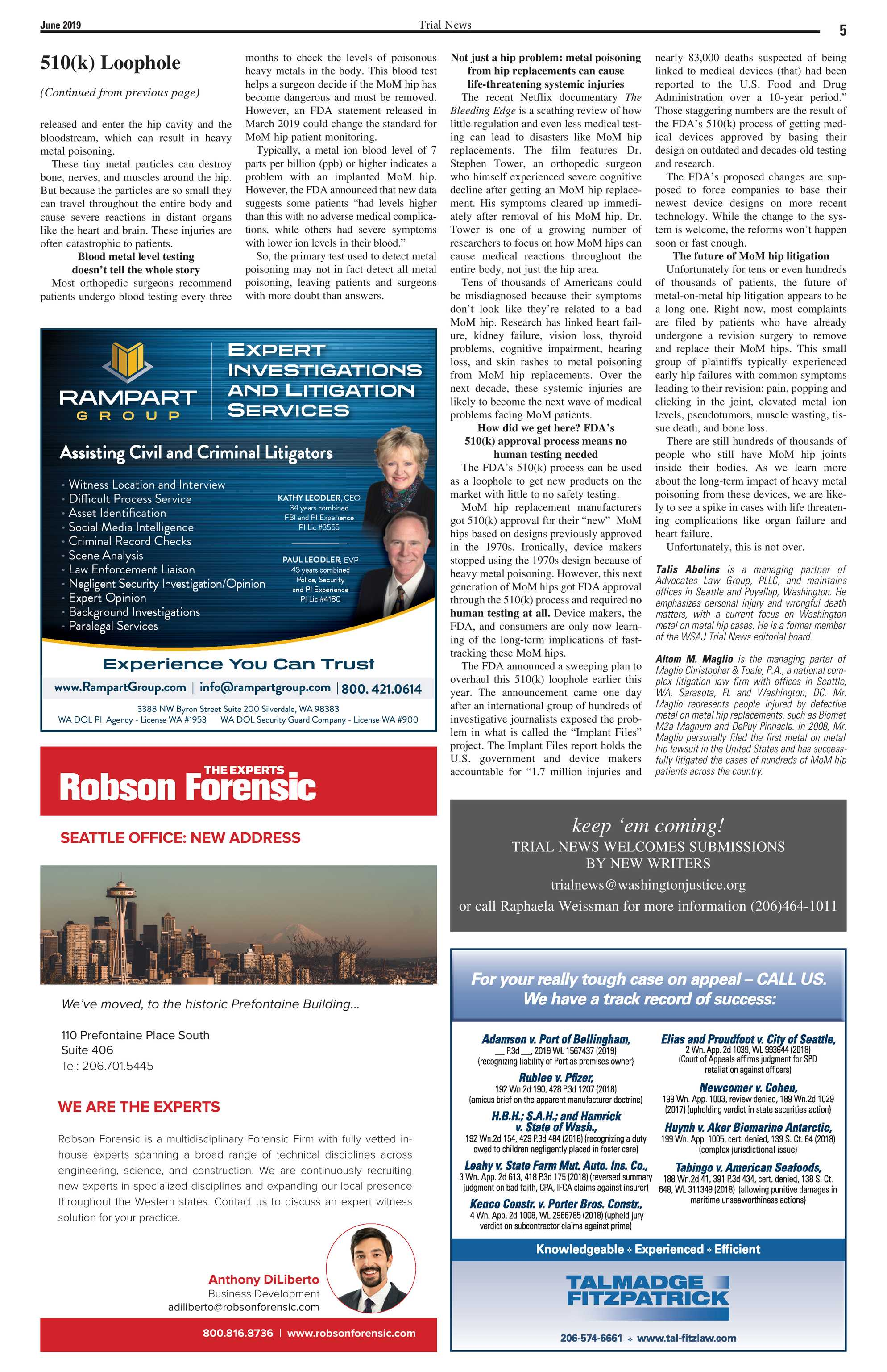 Trial News - June 2019 - page 4