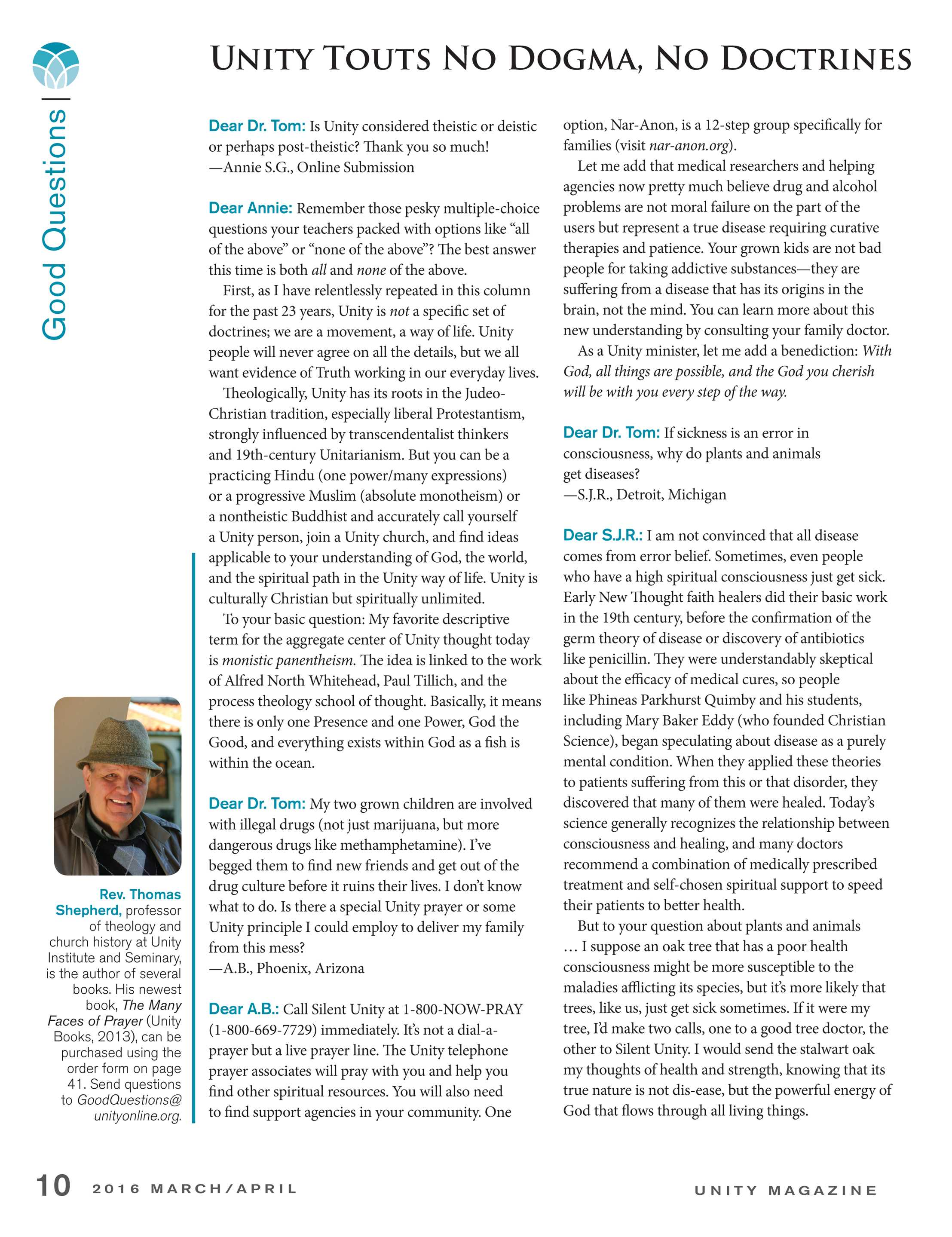 Unity Magazine - March/April 2016 - page 11