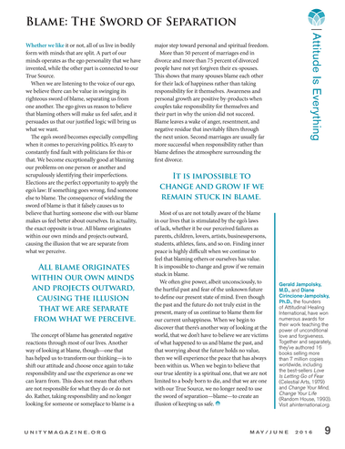 Unity Magazine - May/June 2016 - Page 8-9