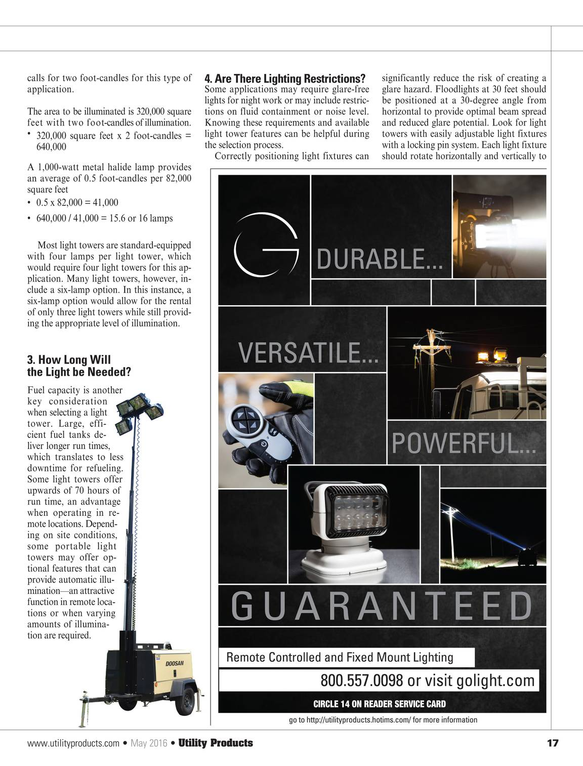 Utility Products - May 2016 - page 16