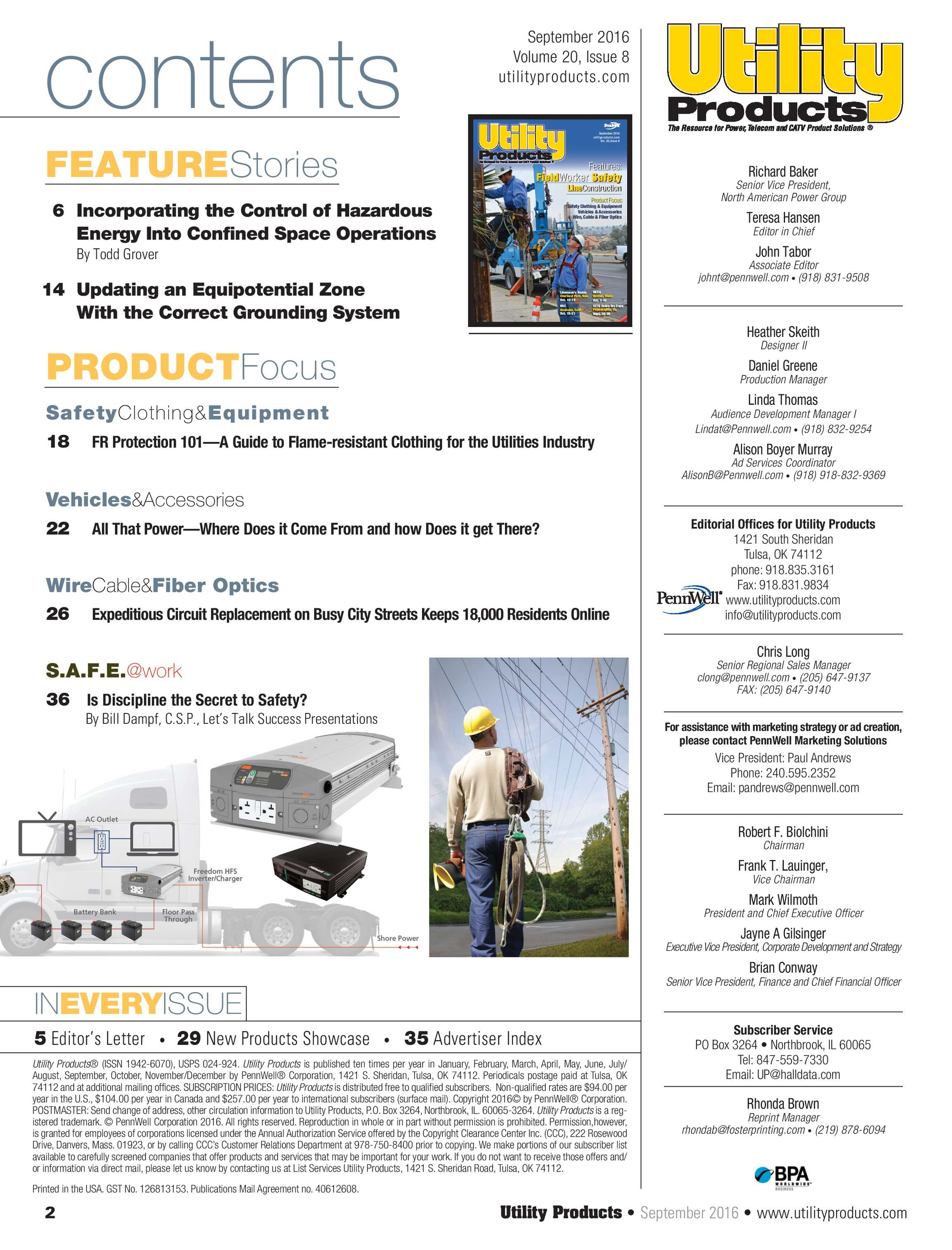 Utility Products - September 2016 - page 2