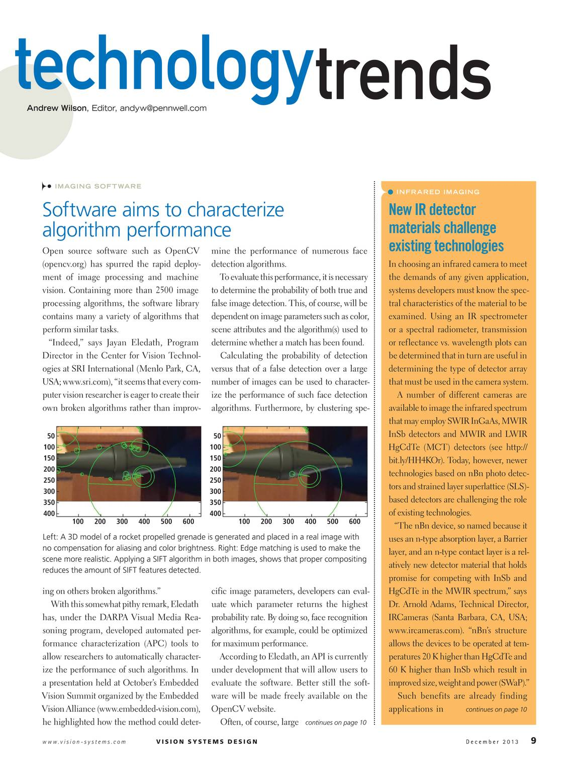 Vision Systems - December 2013 - page 10