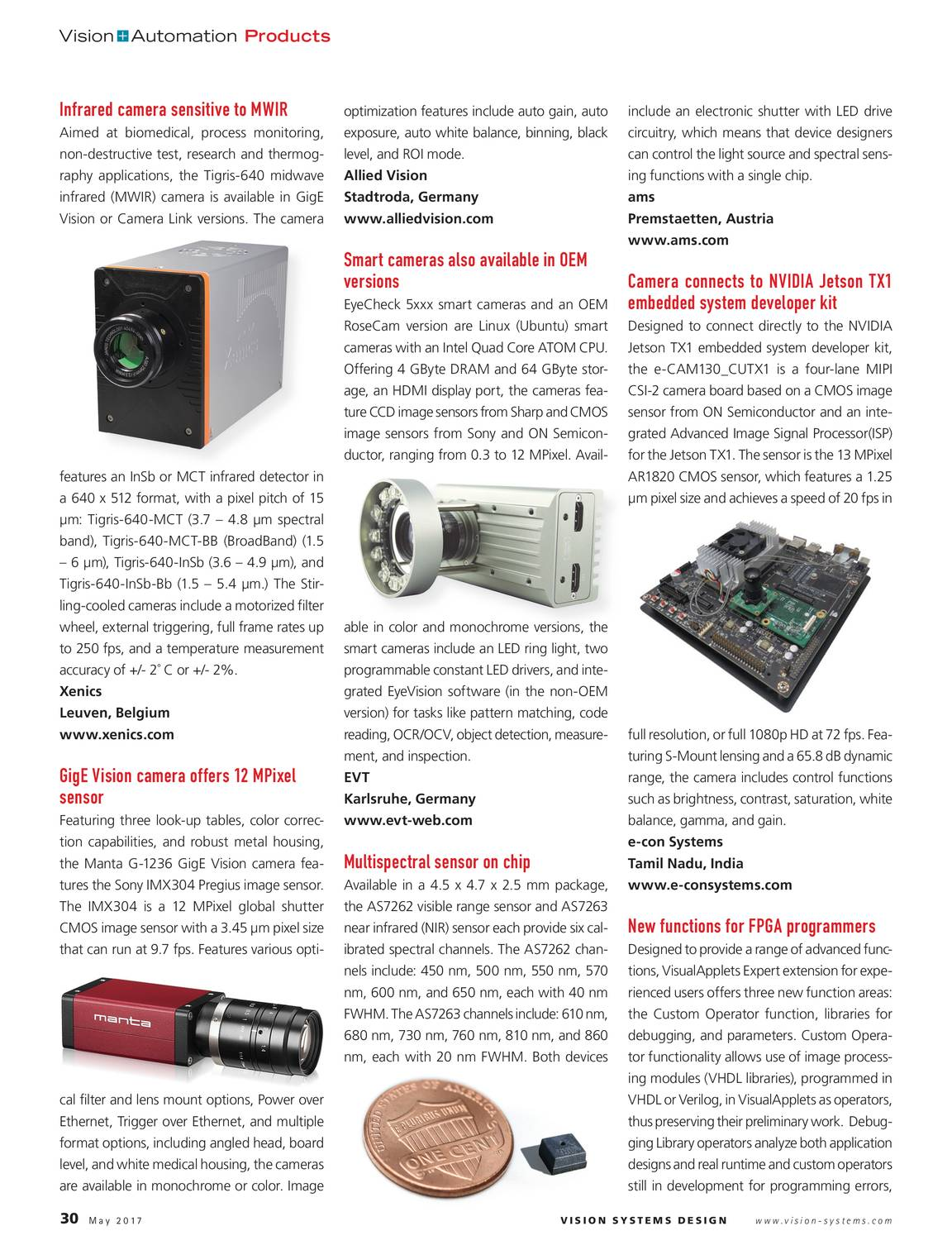 Vision Systems - May 2017 - page 30
