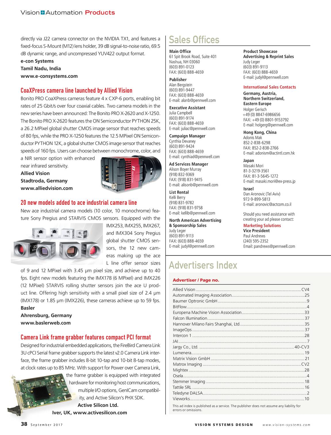 Vision Systems - September 2017 - page 37