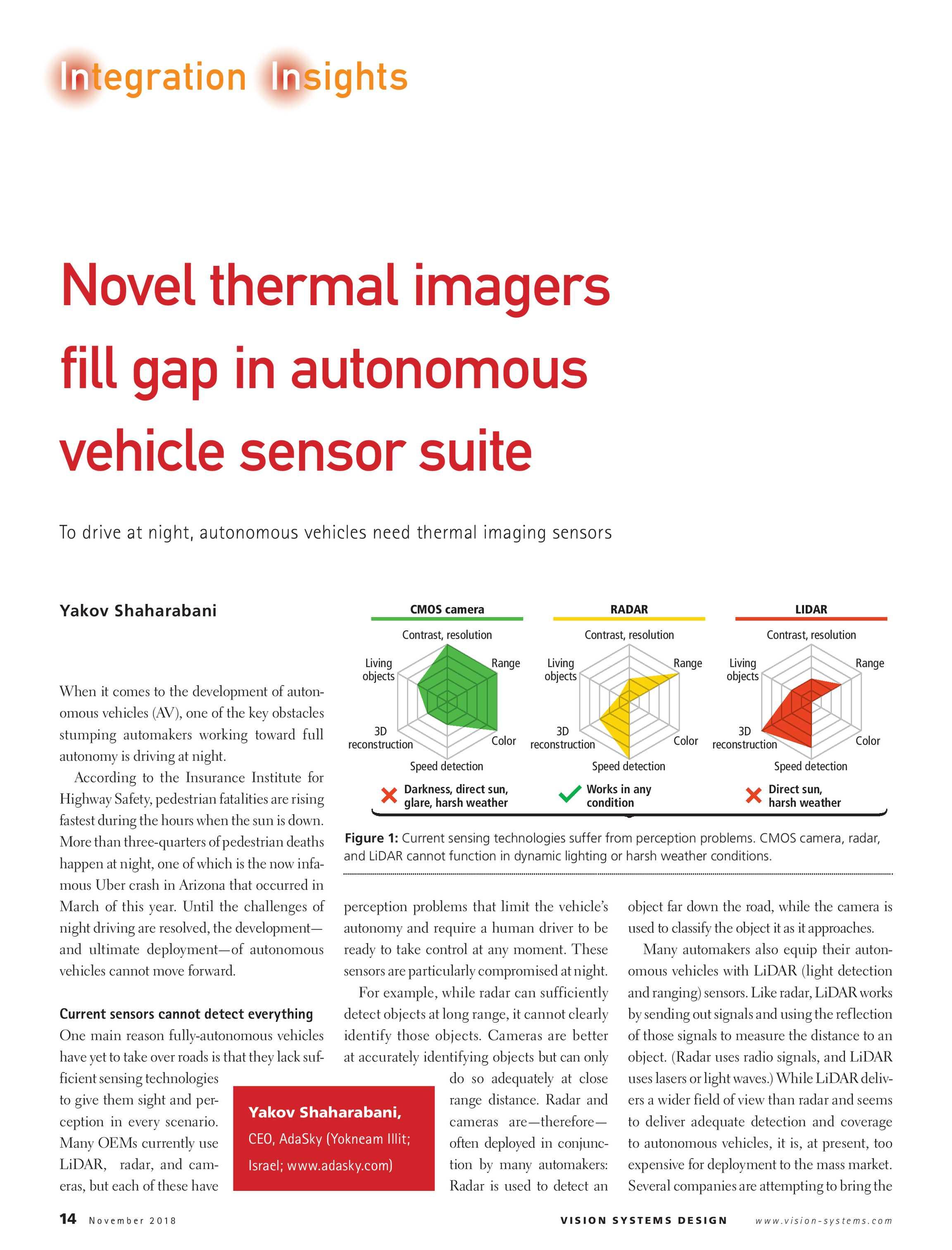 Vision Systems - November 2018 - page 14