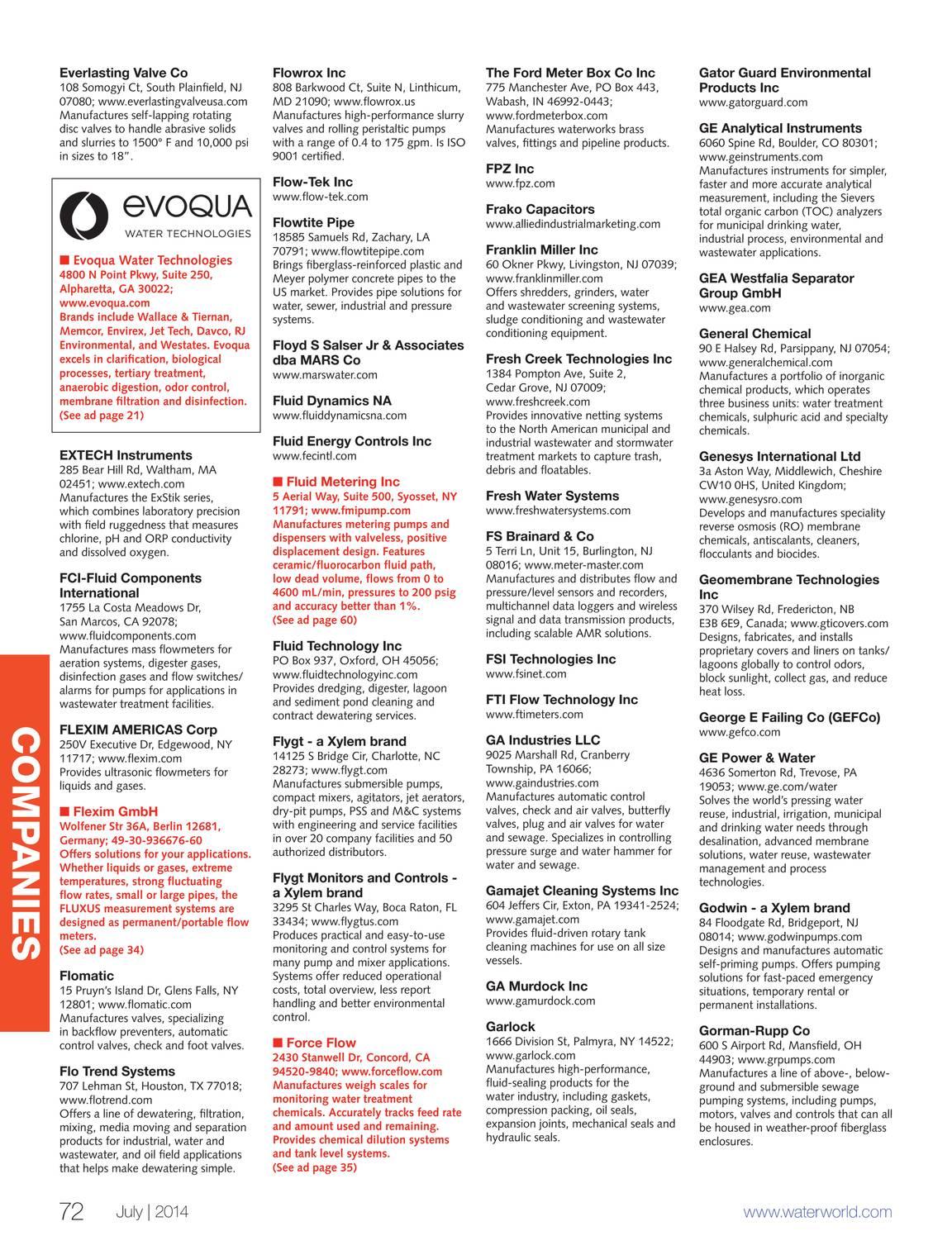 WaterWorld - July 2014 - page 73