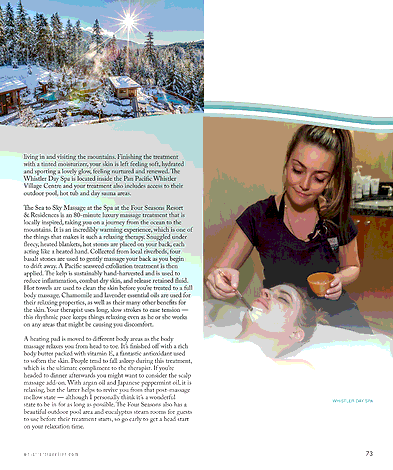 Whistler Traveller - Winter 2019 - Page 72-73