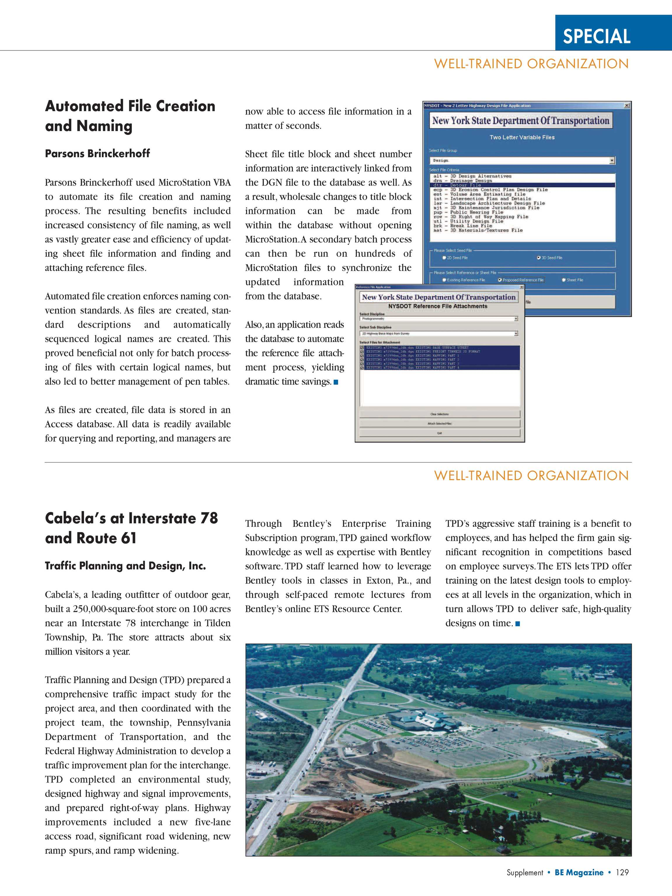 Year In Infrastructure 2005 - page 130