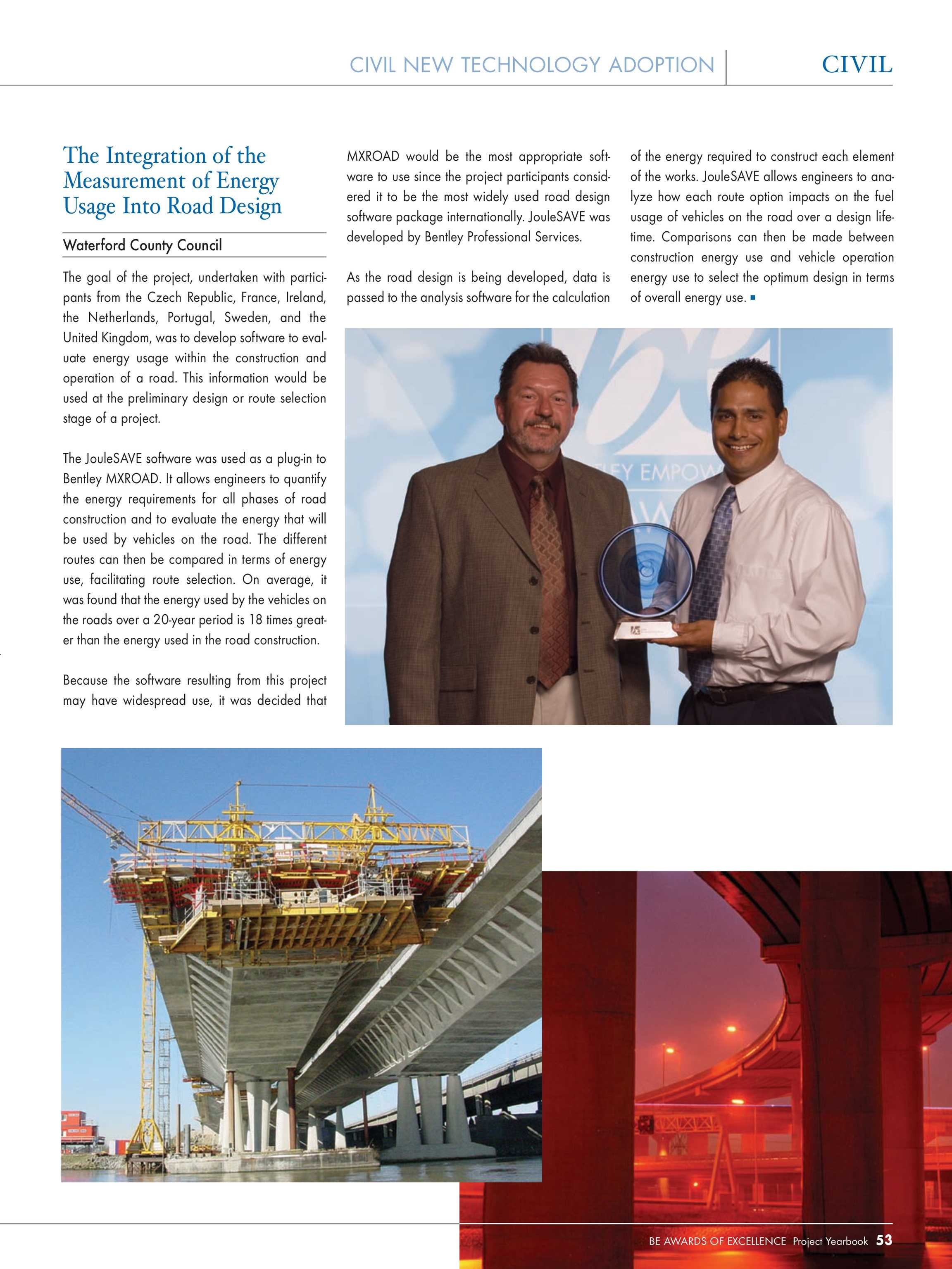Year In Infrastructure 2006 - page 53