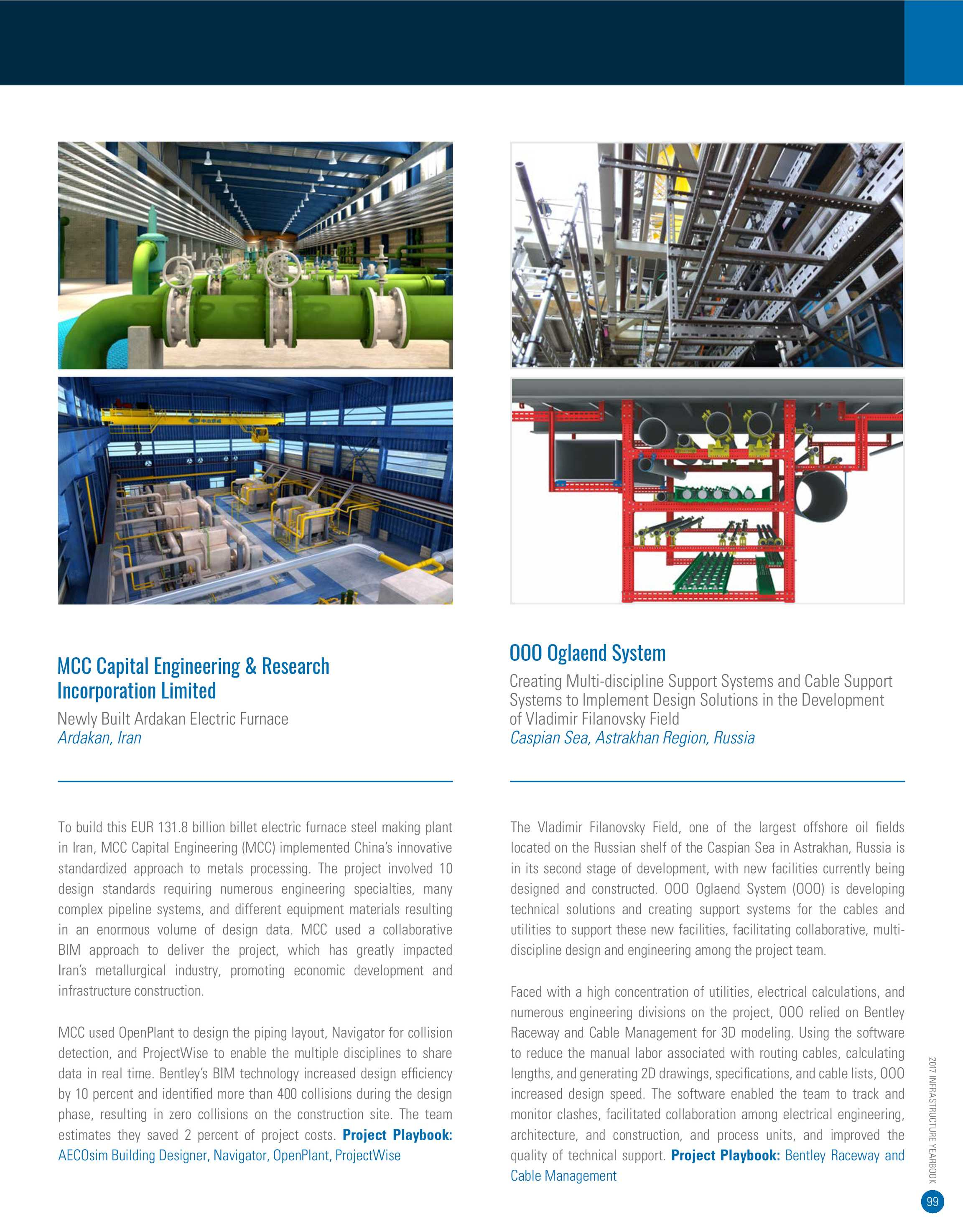 Year In Infrastructure 2017 Page 98 Piping Layout And Design 99