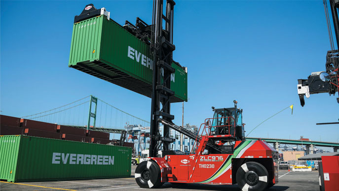 the port of los angeles now has a zero emission battery