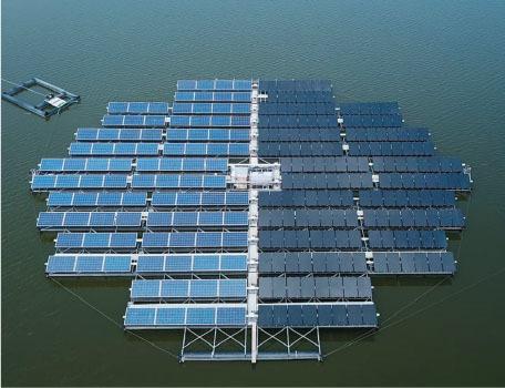 port of rotterdam has incorporated solar panels