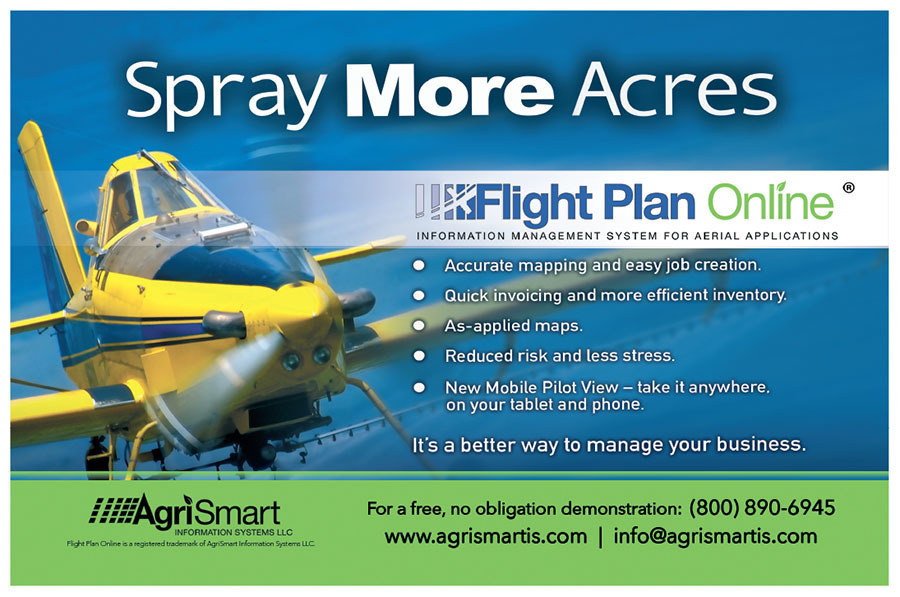 Agricultural Aviation - Spring 2019 - Making Census of the Ag