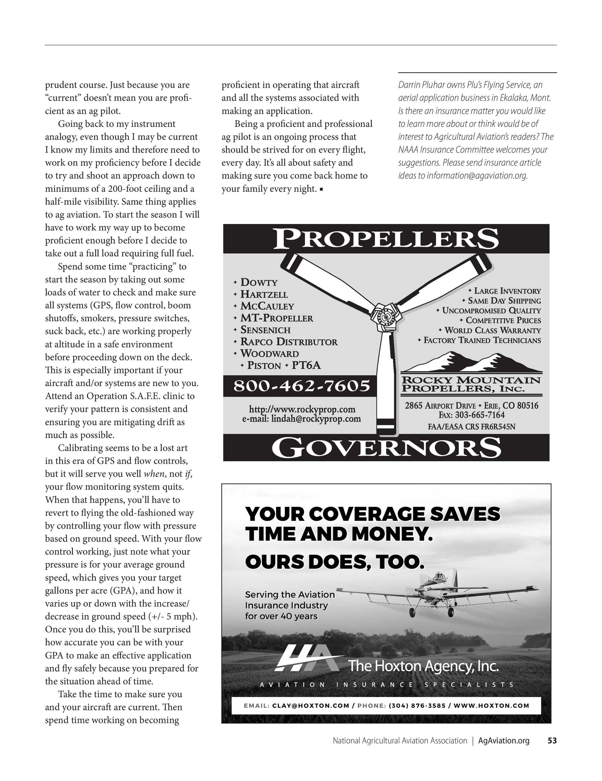 Agricultural Aviation - Summer 2019 - page 54