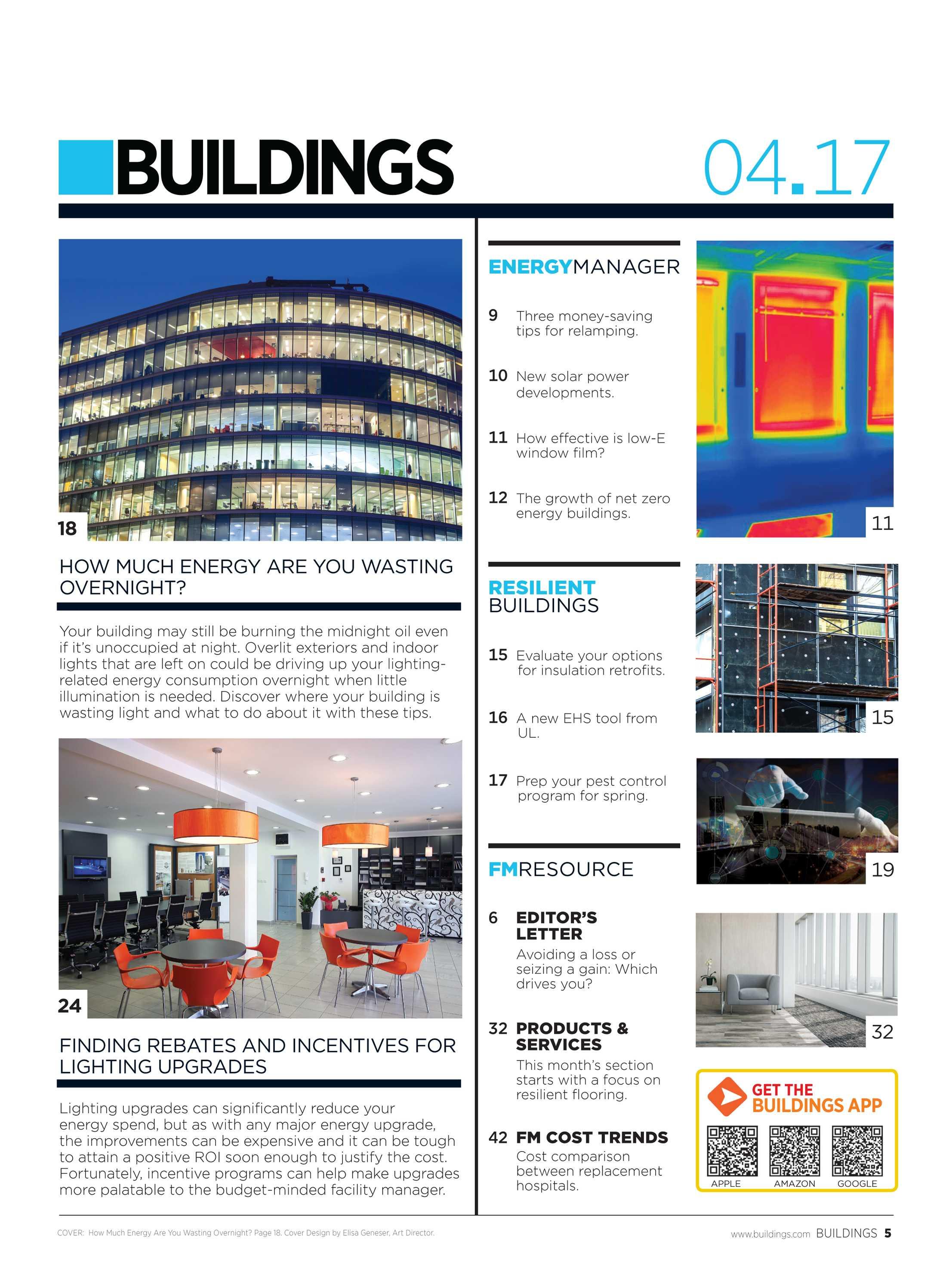 Buildings Magazine - April 2017 - page 5