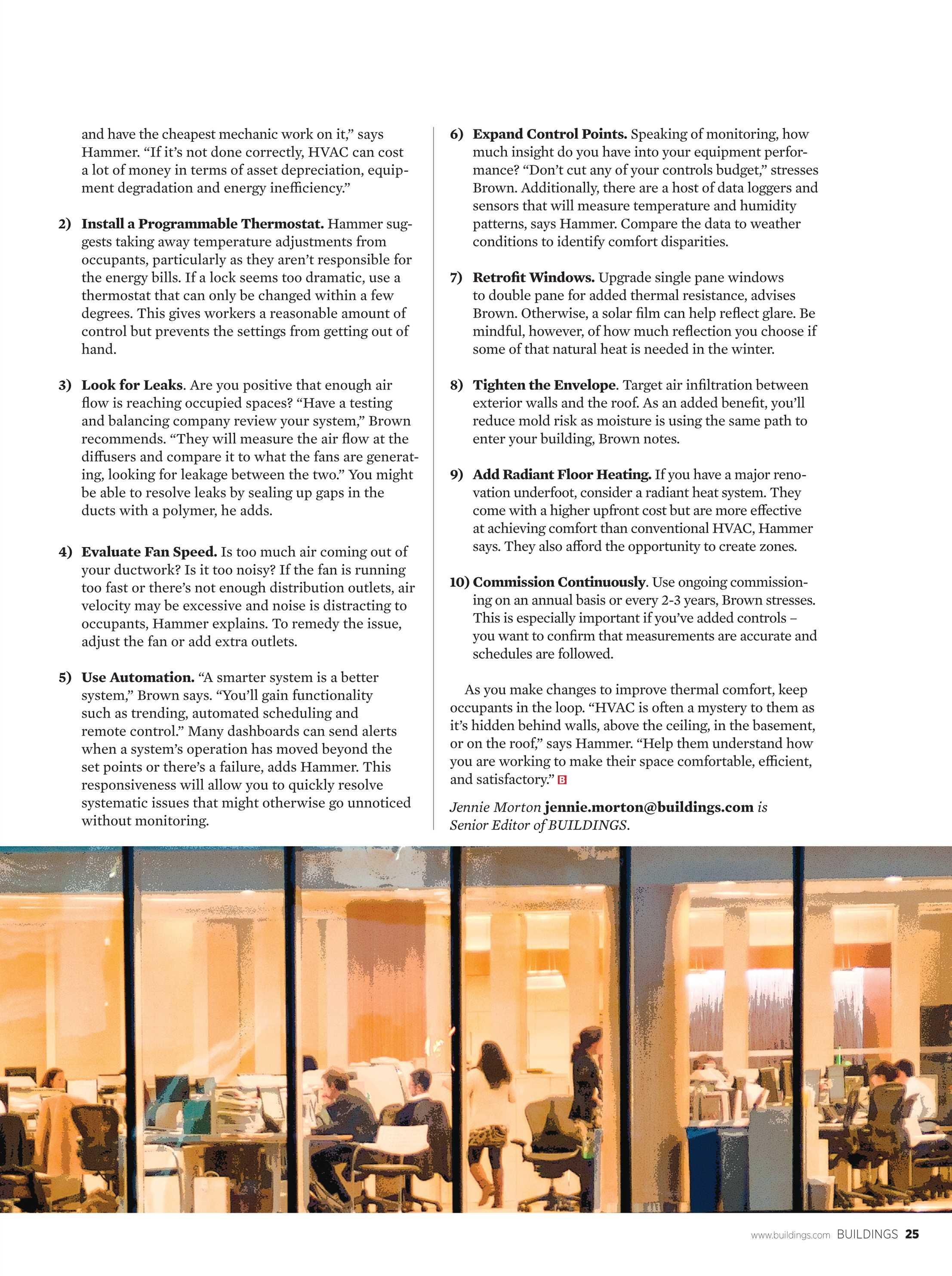 Buildings Magazine - January 2016 - page 25