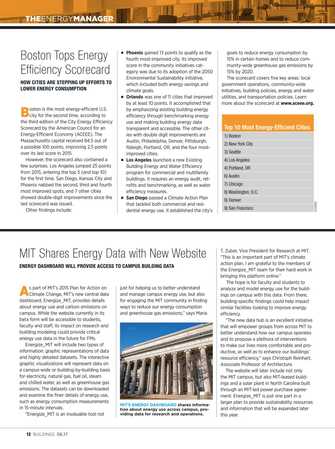 Buildings Magazine - June 2017 - page 13