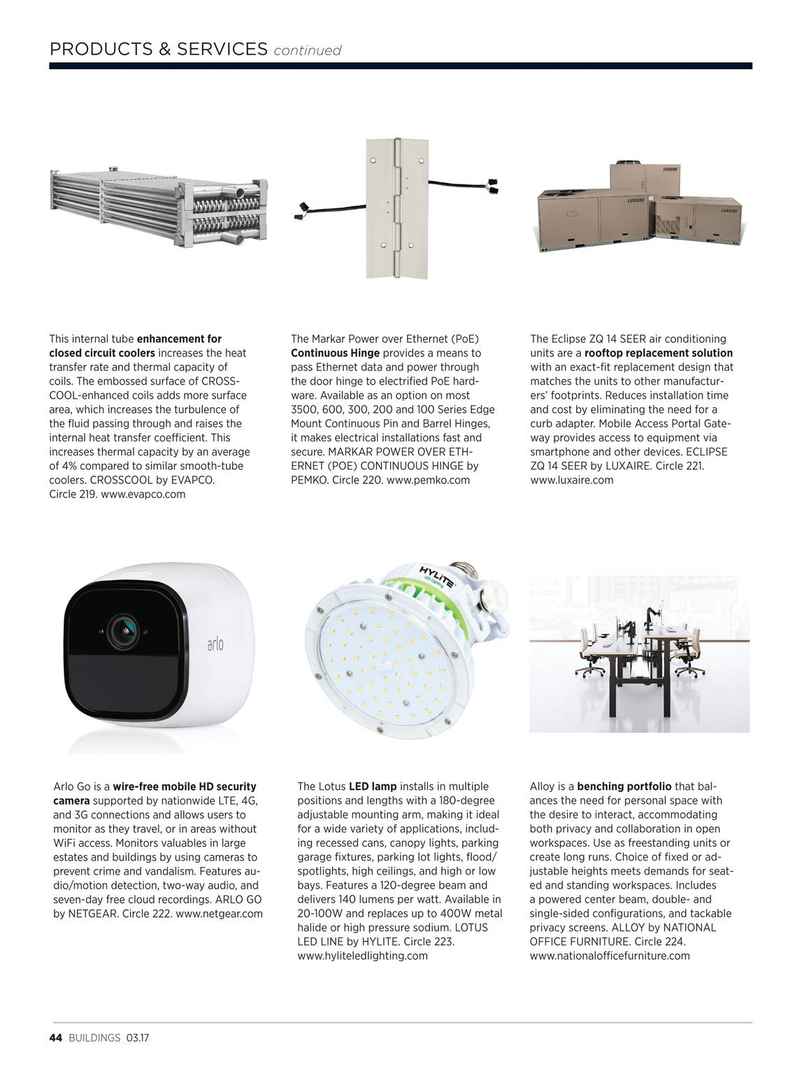 Buildings Magazine - March 2017 - page 45