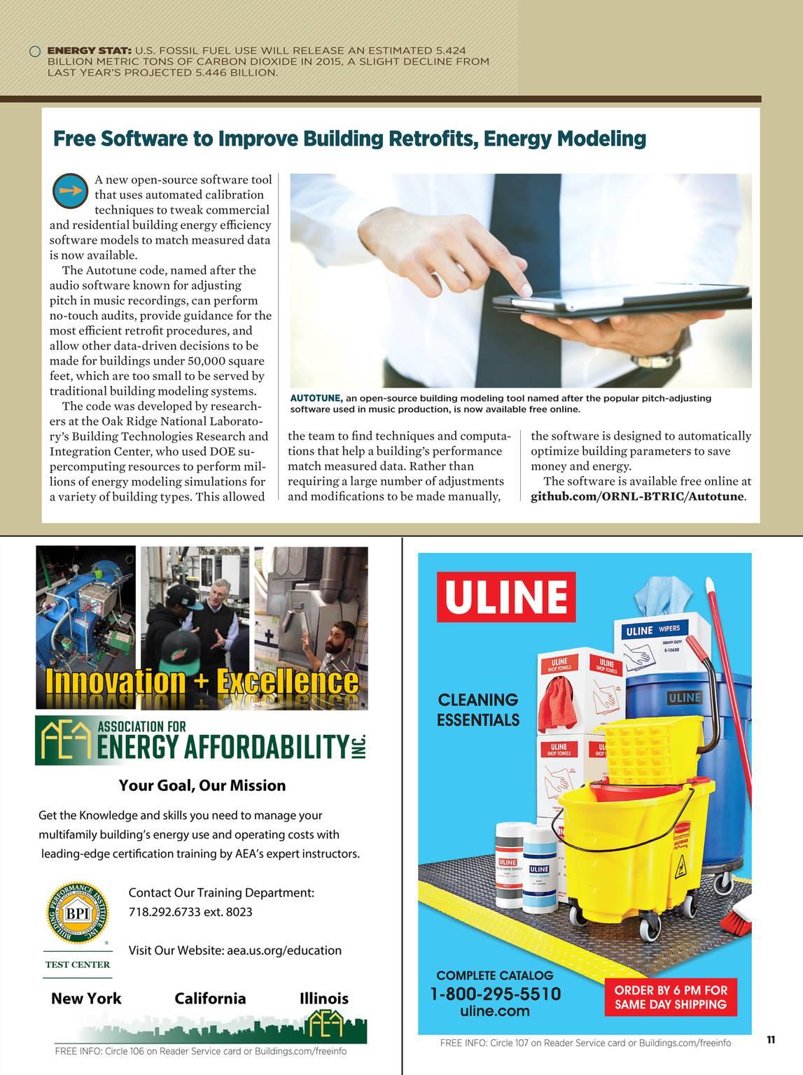 Buildings Magazine - November 2015 - page 11
