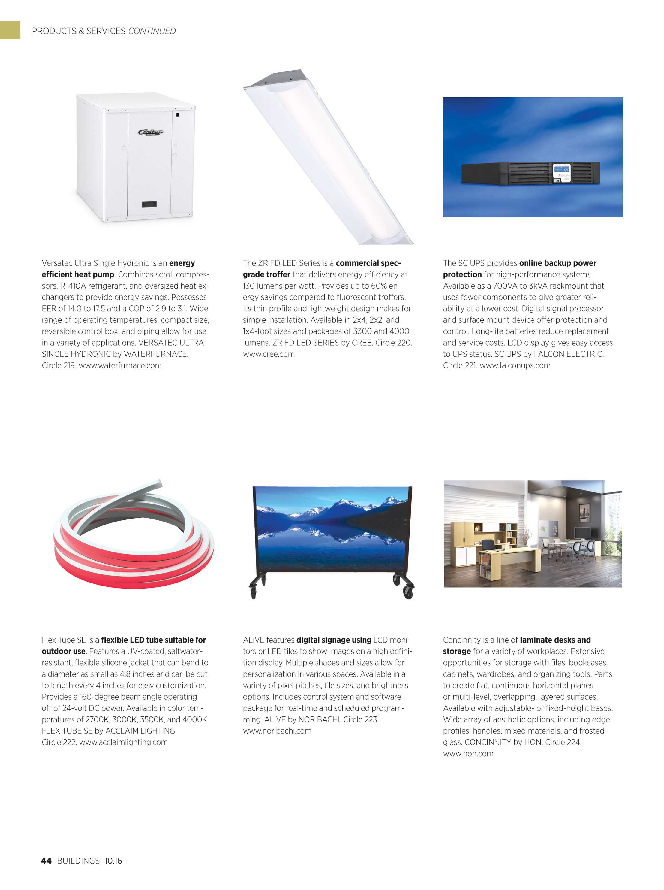 Buildings Magazine - October 2016 - page 44