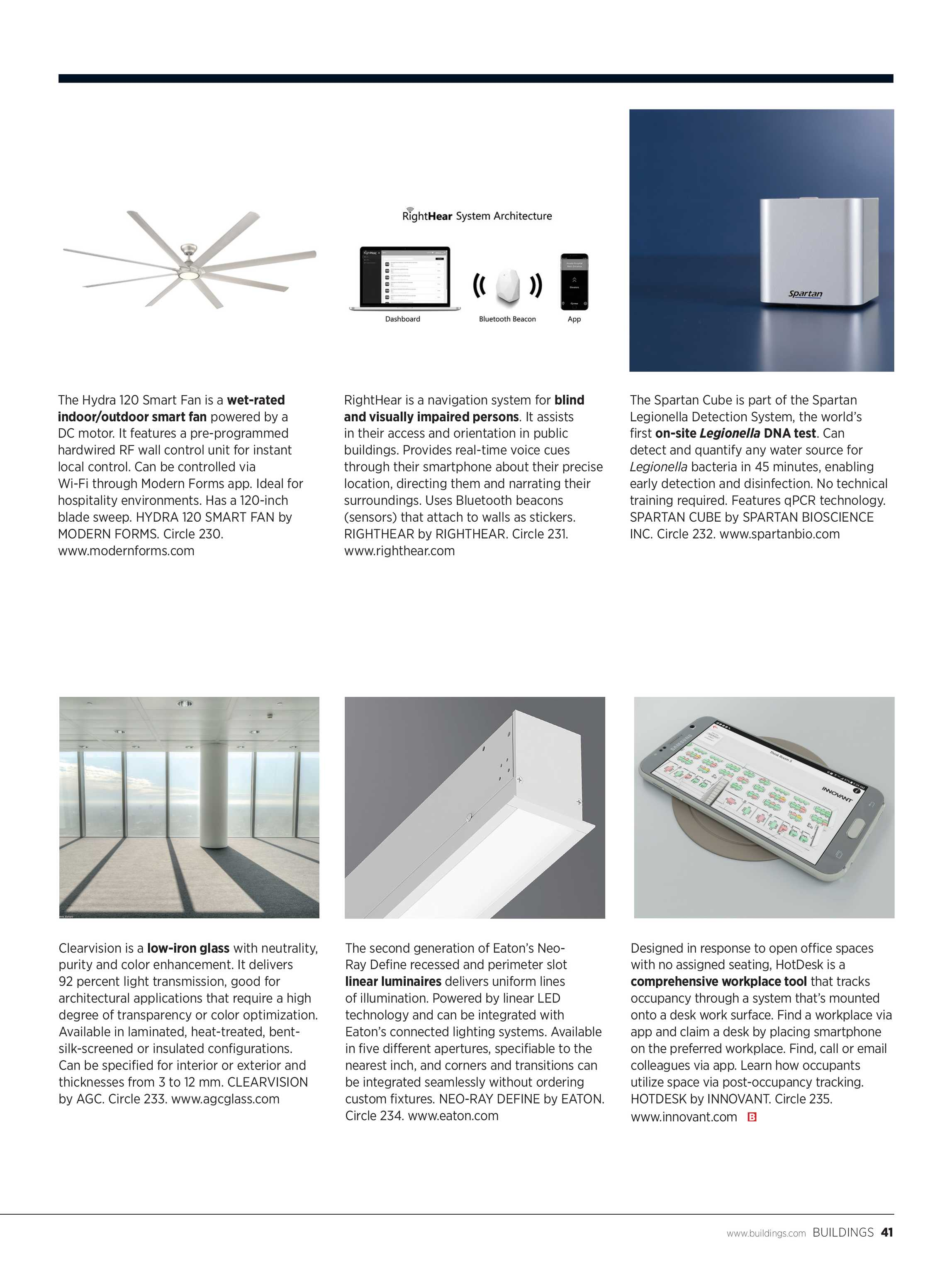 Buildings Magazine - October 2018 - page 41