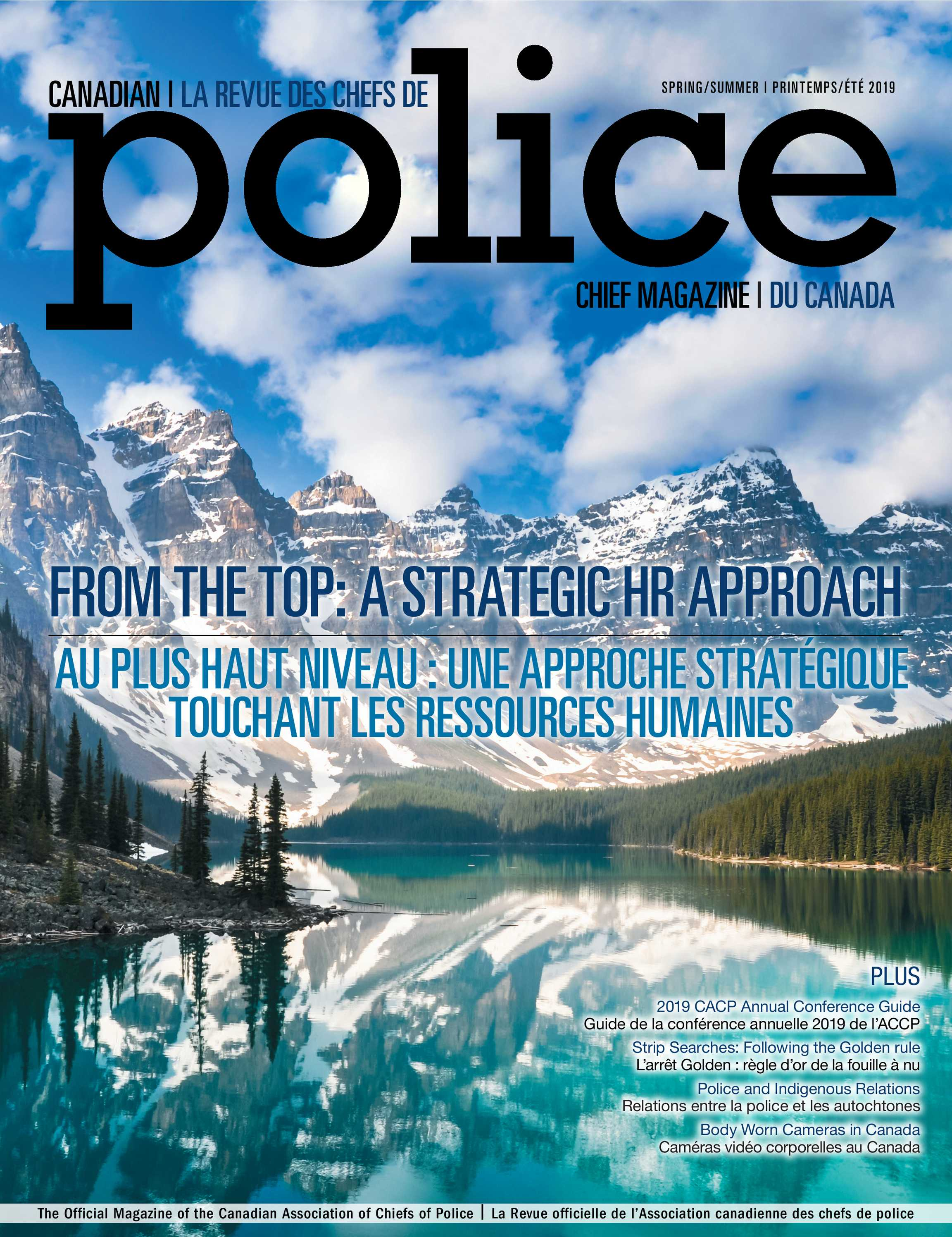 Canadian Police Chief Magazine (CCPT) - Spring/Summer 2019
