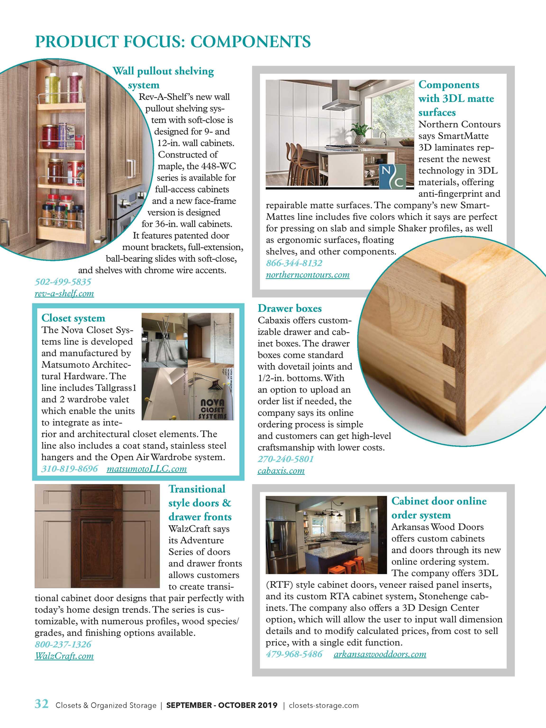 Closets Magazine Sept Oct 2019 Page 32
