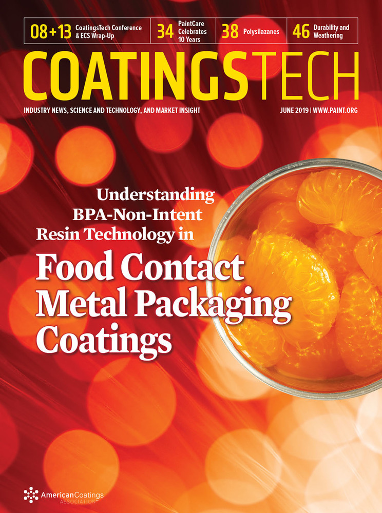 CoatingsTech - June 2019 - Cover