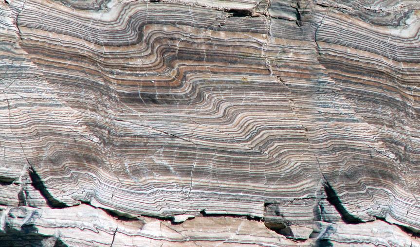 Image of folded rocks