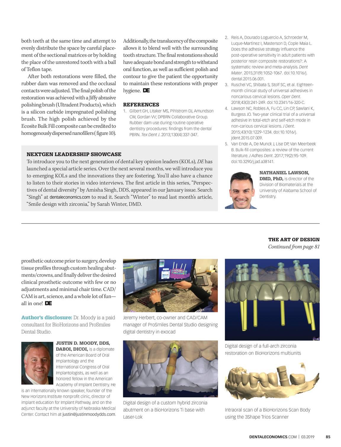 Dental Economics - March 2019 - page 86