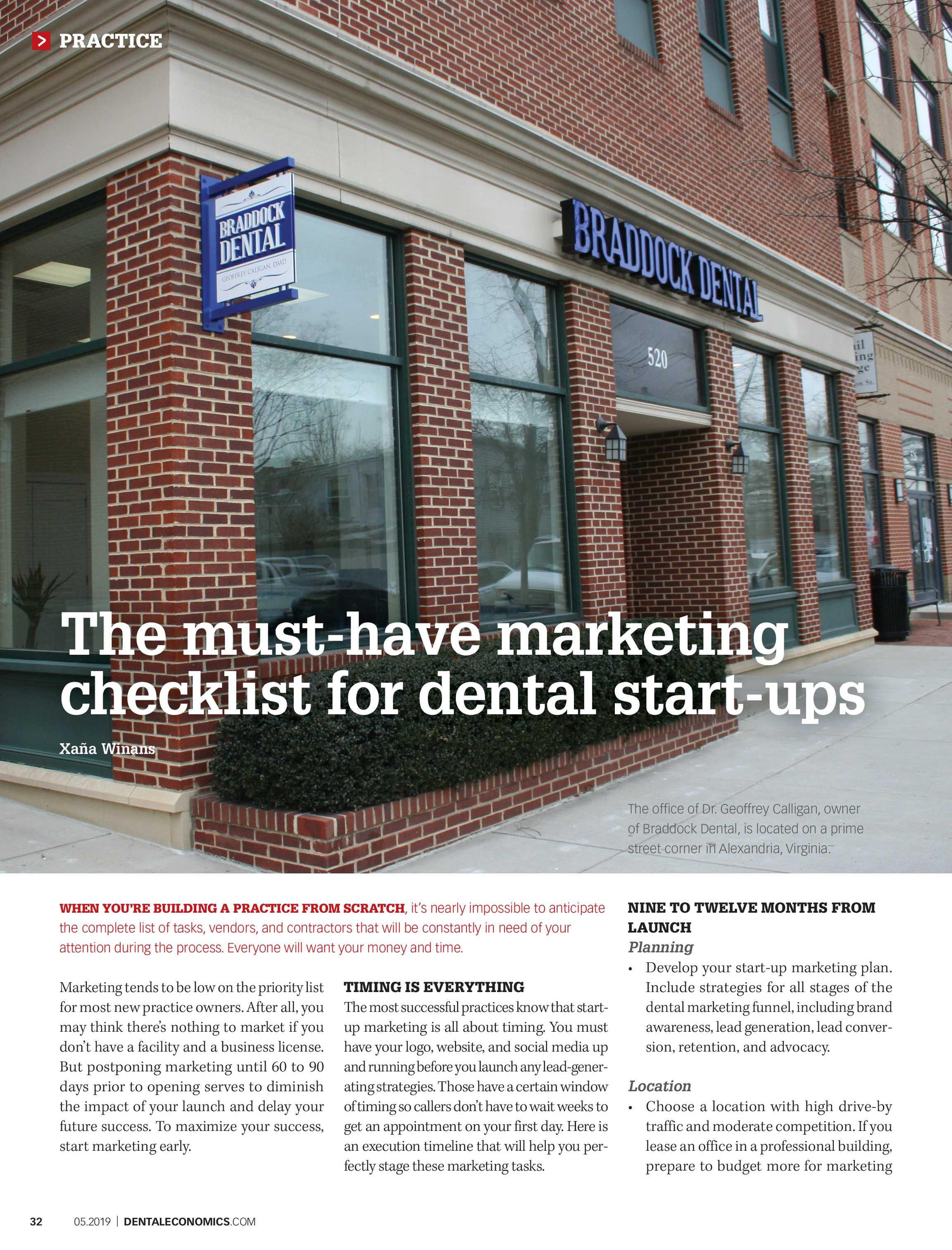 Dental Economics - May 2019 - page 32