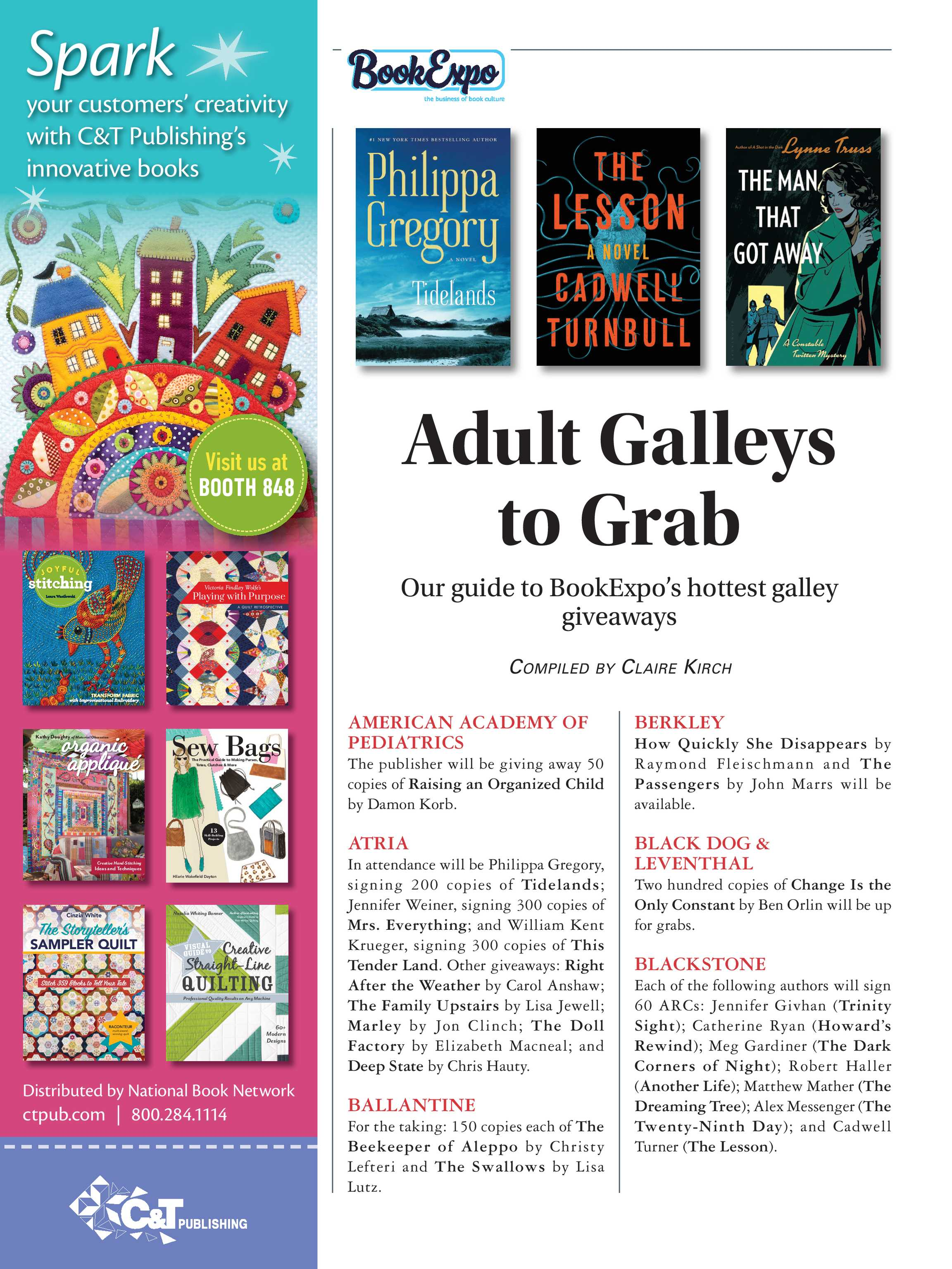 Publishers Weekly - May 13, 2019 - page S28