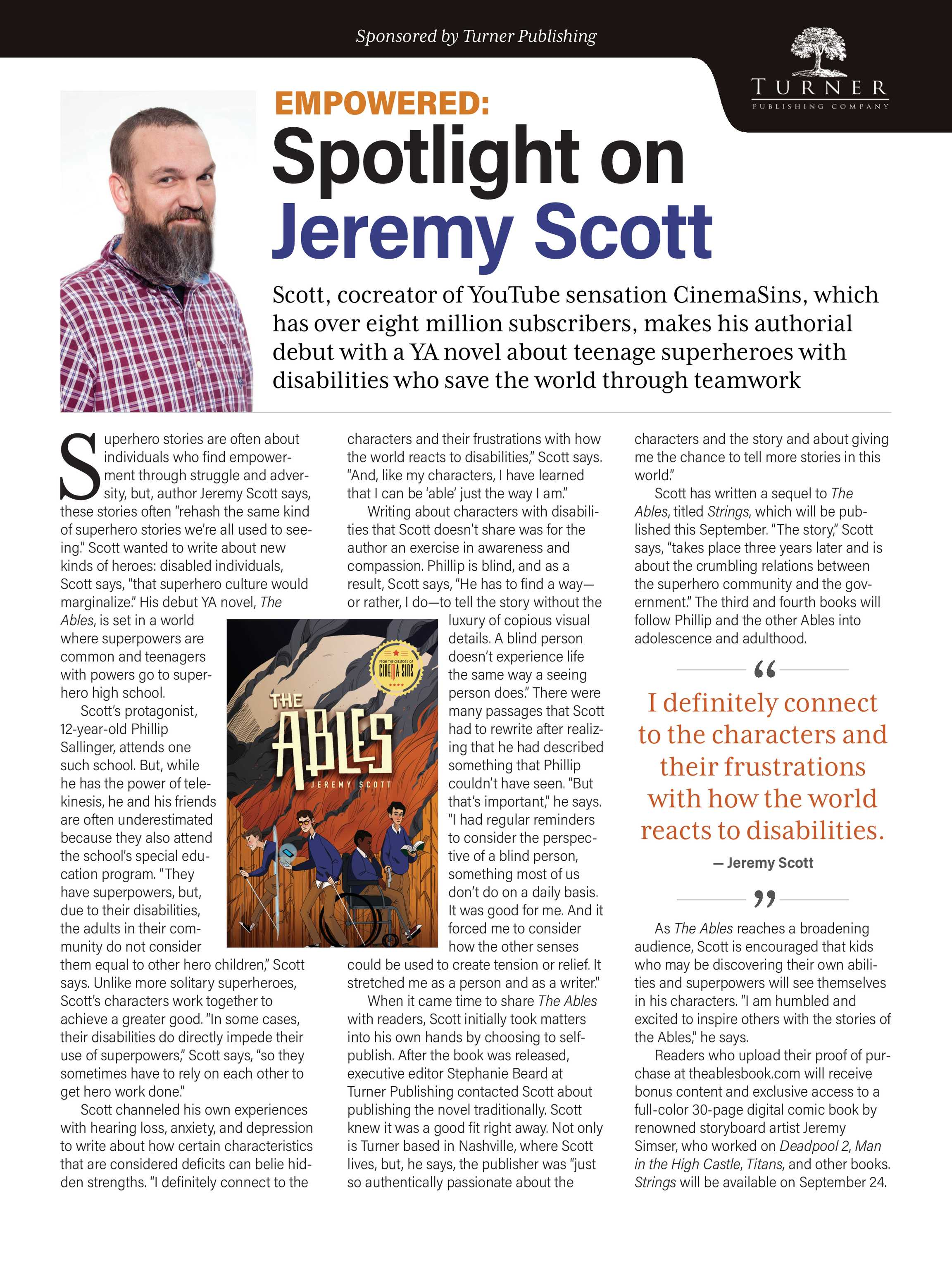 Publishers Weekly - Book Expo Preview 2019 - page 85