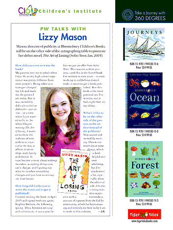 Publishers Weekly Children S Institute Supplement 2018 Page 28 29