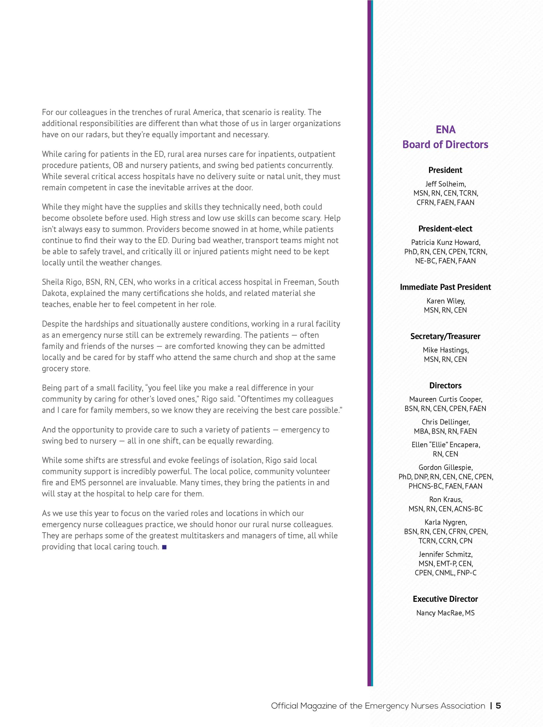 ENA Connection - March 2018 - page 5