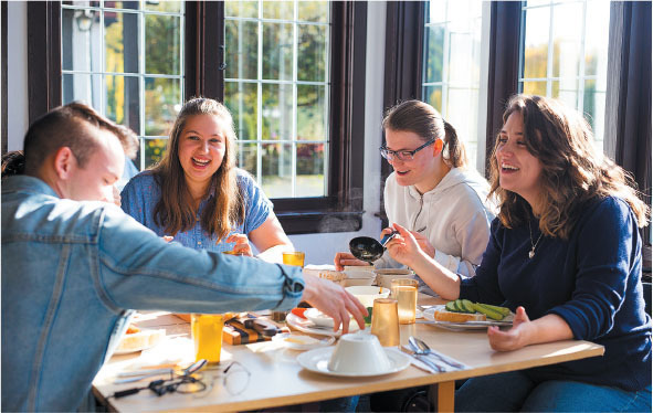 lifelong friendships are forged in community at capernwray