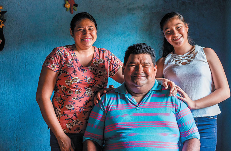 when 12 year old mitayli father was hospitalized for covid 19 in nicaragua