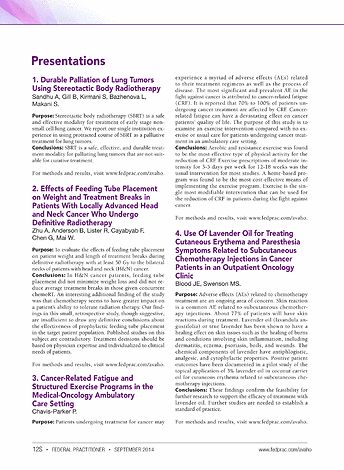 Federal Practitioner - AVAHO 2014 - Page 12S-13S